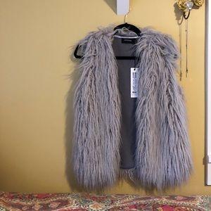 MINKPINK Faux Fur Vest